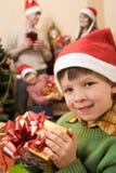 δώρο παιδιών Στοκ φωτογραφίες με δικαίωμα ελεύθερης χρήσης