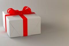 Δώρο σε ένα απλό υπόβαθρο Στοκ εικόνα με δικαίωμα ελεύθερης χρήσης