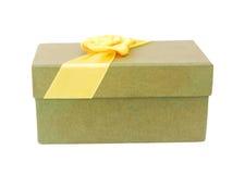 δώρο τόξων κίτρινο Στοκ φωτογραφίες με δικαίωμα ελεύθερης χρήσης
