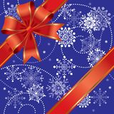 δώρο Χριστουγέννων άνευ ραφής Στοκ εικόνες με δικαίωμα ελεύθερης χρήσης