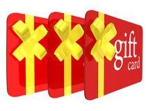 δώρο Χριστουγέννων καρτών Στοκ εικόνες με δικαίωμα ελεύθερης χρήσης