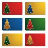 δώρο Χριστουγέννων καρτών απεικόνιση αποθεμάτων