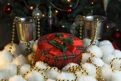 δώρο Χριστουγέννων κιβωτίων Στοκ Εικόνα