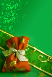 δώρο Χριστουγέννων μαγικό Στοκ φωτογραφίες με δικαίωμα ελεύθερης χρήσης