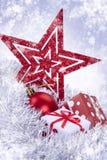 δώρο Χριστουγέννων μπιχλι στοκ φωτογραφία