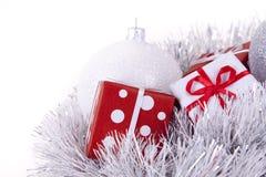δώρο Χριστουγέννων μπιχλι στοκ εικόνα