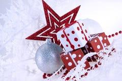 δώρο Χριστουγέννων μπιχλι στοκ εικόνα με δικαίωμα ελεύθερης χρήσης