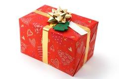 δώρο Χριστουγέννων στοκ φωτογραφίες με δικαίωμα ελεύθερης χρήσης