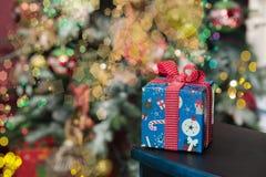 Δώρο 2016 Χριστουγέννων Στοκ φωτογραφία με δικαίωμα ελεύθερης χρήσης