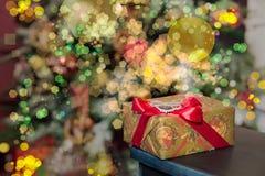 Δώρο 2016 Χριστουγέννων Στοκ Εικόνες