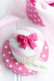 Δώρο Cupcake Στοκ φωτογραφία με δικαίωμα ελεύθερης χρήσης