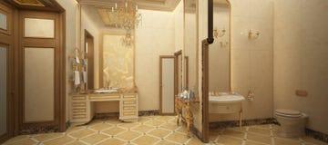 Δώστε της τουαλέτας πολυτέλειας Στοκ φωτογραφία με δικαίωμα ελεύθερης χρήσης