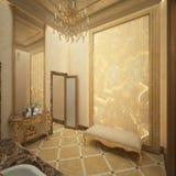 Δώστε της τουαλέτας πολυτέλειας Στοκ εικόνες με δικαίωμα ελεύθερης χρήσης