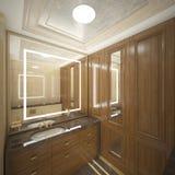 Δώστε της τουαλέτας πολυτέλειας Στοκ Εικόνα