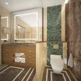 Δώστε της τουαλέτας πολυτέλειας Στοκ Φωτογραφία