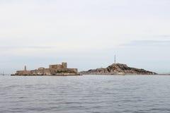 Εάν Castle επάνω στους βράχους κοντά στη Μασσαλία, Γαλλία Στοκ εικόνες με δικαίωμα ελεύθερης χρήσης