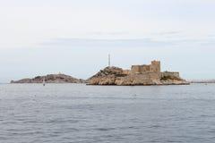 Εάν Castle επάνω στους βράχους, Μασσαλία, Γαλλία Στοκ φωτογραφία με δικαίωμα ελεύθερης χρήσης