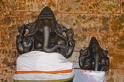 Είδωλα του Λόρδου Ganesha, στον τρόπο σε Thanjavur, Tamil Nadu, Ινδία Στοκ Εικόνες