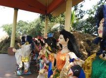 Είδωλα Kartikeya Θεών Στοκ φωτογραφίες με δικαίωμα ελεύθερης χρήσης