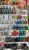 Είδωλα mercado de las brujas στη Βολιβία Στοκ Εικόνες