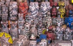 Είδωλα mercado de las brujas στη Βολιβία Στοκ φωτογραφίες με δικαίωμα ελεύθερης χρήσης