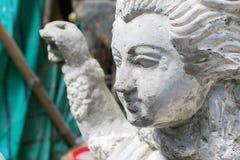 Είδωλο αργίλου της θεάς Durga, Kumartuli, Kolkata, δυτική Βεγγάλη, Ινδία Στοκ Φωτογραφία