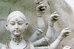 Είδωλο αργίλου της θεάς Durga, Kumartuli, Kolkata, δυτική Βεγγάλη, Ινδία Στοκ εικόνες με δικαίωμα ελεύθερης χρήσης