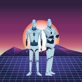 Είδωλο ρομπότ Humanoid ελεύθερη απεικόνιση δικαιώματος