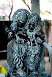 Είδωλο Krishna και Radha Στοκ Εικόνες