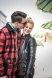 Είμαι ευτυχής όταν είστε με με Στοκ εικόνα με δικαίωμα ελεύθερης χρήσης