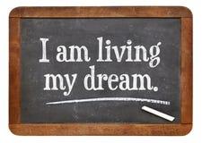Είμαι ζωντανός το όνειρό μου Στοκ Φωτογραφία