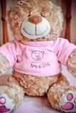 Είναι ένα κορίτσι - teddy Στοκ φωτογραφία με δικαίωμα ελεύθερης χρήσης
