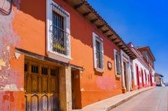 Είναι μια πόλη που βρίσκεται στη μεξικάνικη κατάσταση Chiapas Το κέντρο πόλεων ` s διατηρεί το ισπανικό αποικιακό σχεδιάγραμμά το Στοκ Εικόνες