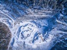 Είναι πραγματικά συμπαθητικό να βγεί στο βουνό Στοκ Φωτογραφία