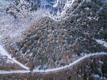 Είναι πραγματικά συμπαθητικό να βγεί στο βουνό Στοκ Εικόνα