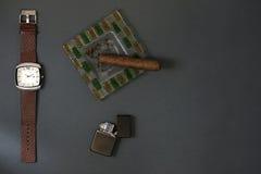 Είναι χρόνος για ένα σπάσιμο τσιγάρων Στοκ εικόνα με δικαίωμα ελεύθερης χρήσης