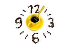 Είναι χρόνος για τον καφέ Στοκ εικόνες με δικαίωμα ελεύθερης χρήσης