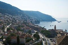 Είσοδοι και έξοδοι στην παλαιά πόλη Dubrovnik στοκ εικόνα με δικαίωμα ελεύθερης χρήσης