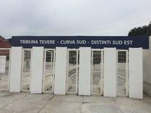 Είσοδοι στο ολυμπιακό στάδιο στη Ρώμη στοκ φωτογραφία με δικαίωμα ελεύθερης χρήσης