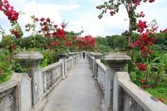 Είσοδος γεφυρών σε Taman Ujung, Μπαλί στοκ εικόνες με δικαίωμα ελεύθερης χρήσης
