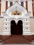 είσοδος εκκλησιών ορθό&d Στοκ φωτογραφία με δικαίωμα ελεύθερης χρήσης