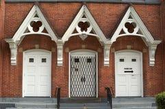 είσοδος εκκλησιών στοκ φωτογραφίες