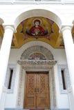 Είσοδος εκκλησιών Στοκ εικόνα με δικαίωμα ελεύθερης χρήσης