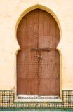 είσοδος Μαροκινός Στοκ φωτογραφία με δικαίωμα ελεύθερης χρήσης