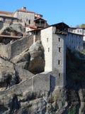 Είσοδος μοναστηριών, Meteora, Ελλάδα Στοκ φωτογραφίες με δικαίωμα ελεύθερης χρήσης