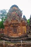 Είσοδος ναών Srei Banteay, Angkor, Καμπότζη στοκ φωτογραφία με δικαίωμα ελεύθερης χρήσης