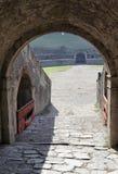 είσοδος Πομπηία χώρων Στοκ φωτογραφία με δικαίωμα ελεύθερης χρήσης