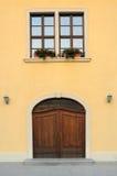 είσοδος πορτών Στοκ Εικόνα