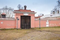 Είσοδος στο σπίτι σταθμαρχών στοκ φωτογραφία με δικαίωμα ελεύθερης χρήσης
