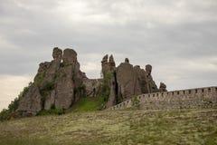 Είσοδος στο φρούριο βράχων Belogradchik στοκ εικόνα με δικαίωμα ελεύθερης χρήσης